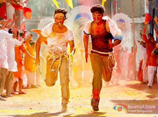Ranveer Singh and Arjun Kapoor in a still from Gunday