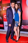 Riteish Deshmukh and Genelia Dsouza during the launch of Celebrity Cricket League (CCL) Season 4