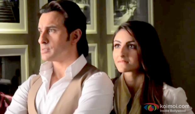 Saif Ali Khan and Soha Ali Khan