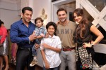 Salman Khan, Sohail Khan and Seema Khan At Suzanne's Store Launch