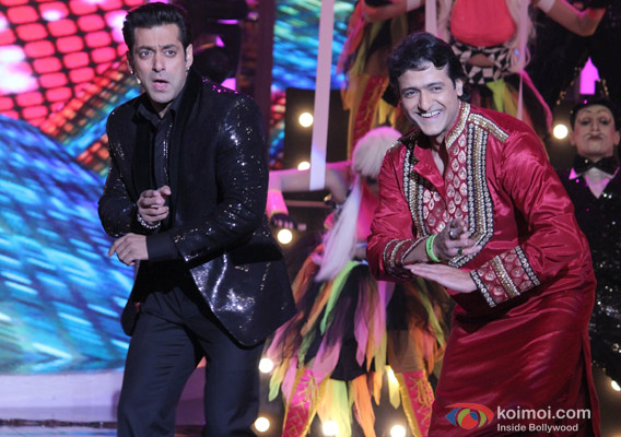 Salman Khan and Armaan Kohli in Bigg Boss 7 - Grand Finale