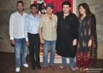 Shaan Uttam Singh, Jayantilal Gada, Sachin Pilgaonkar and Shadaab Khan at Special Screening Of Sholay 3D