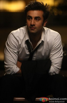 Stunning Ranbir Kapoor Snapped Looking Away
