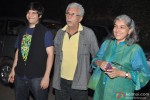 Vivaan Shah, Naseeruddin Shah and Ratna Pathak Attend Special Screening Of ' The Wolf Of Wall Street'