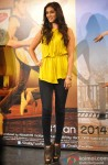 Preeti Desai during the first look launch of film 'One By Two'