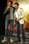 Abhay Deol and Amit Kapoor during the first look launch of film 'One By Two'