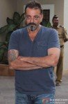 Sanjay Dutt Returns Home On Parole Pic 1