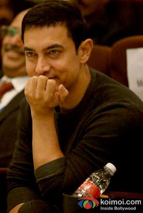 Aamir Khan at an event