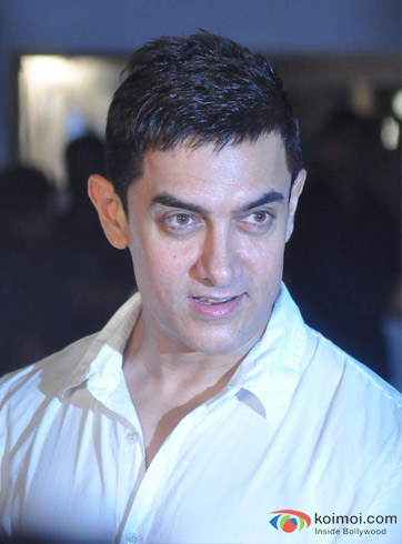 Aamir Khan at an event