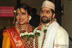 Sameera Reddy Poses With Her Husband Akshai Varde Pic 3