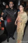 Ajay Devgn and Kajol at singer Raghav Sachar's wedding reception