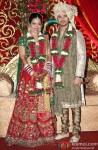 Amita Pathak and Raghav Sachar's wedding reception
