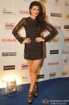 Jacqueline Fernandez Snapped At The Filmfare Pre-Award Party