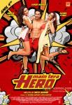 Nargis Fakhri, Varun Dhawan and Ileana DCruz in Main Tera Hero Movie Poster