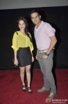 Nushrat Bharucha and Jimmy Shergill at the first look launch of 'Darr @ The Mall'