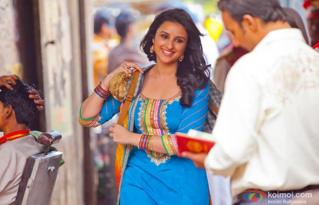 Parineeti Chopra in a still from Shuddh Desi Romance