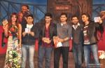 Priyanka Chopra, Irshad Kamil, Arjun Kapoor, Sohail, Ali Abbas, Zafar and Ranveer Singh at the music launch of 'Gunday'