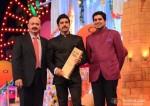 Rakesh Roshan and Farhan Akhtar at Big Star Entertainment Awards 2013