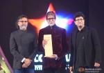 Rakeysh Omprakash Mehra, Amitabh Bachchan and Prasoon Joshi at Big Star Entertainment Awards 2013