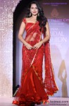 Sonakshi Sinha Looks Classy In Red Hot Sari
