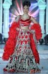 Sushmita Sen Stuns In A Red Hot Rohit Verma Creation