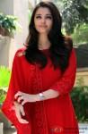 Aishwarya Rai Bachchan Looks Beautiful In A Red Hot Attire