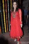 Sunny Leone Surprises In A Red Hot Suit