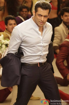 Salman Khan Caught In A Dance Pose
