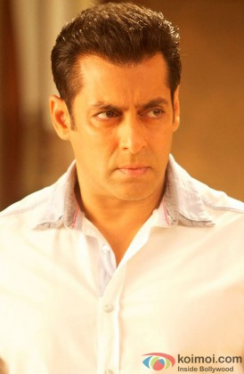 Salman Khan Snapped In A Angry Avatar