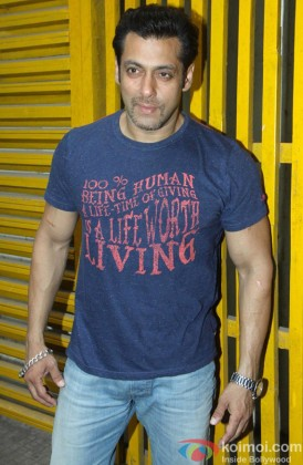 Salman Khan Strikes A Casual Pose