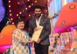 Saroj Khan and Prabhu Dheva at Big Star Entertainment Awards 2013