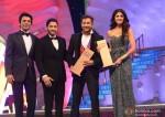 Sunil Grover, Shreyas Talpade, Terence Lewis and Shilpa Shetty at Big Star Entertainment Awards 2013
