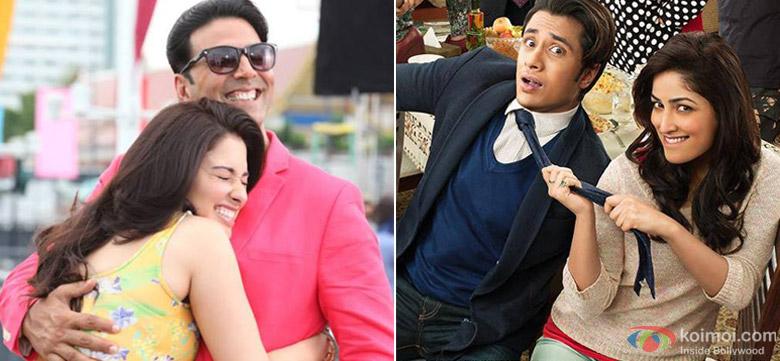 Tamannaah and Akshay Kumar in Its Entertainment and Ali Zafar ,Yami Gautam in Total Siyapaa Movie Stills