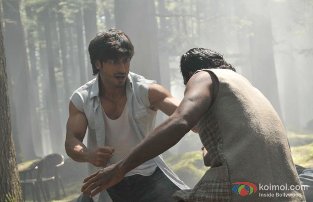Vidyut Jamwal in a still from Commando
