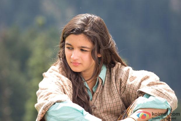 Alia Bhatt in a still from 'Highway'