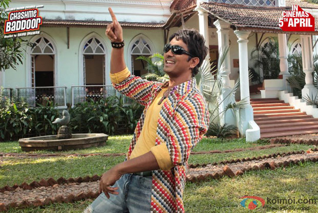 Siddharth in a still from 'Chashme Baddoor'