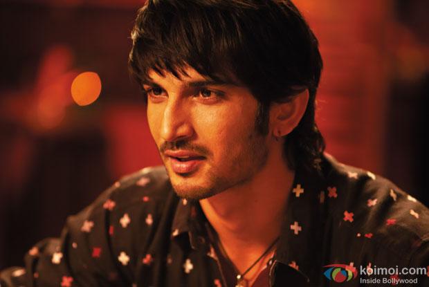 Sushant Singh Rajput in a still from 'Shuddh Desi Romance'