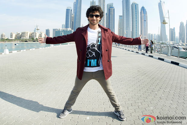 Girish Kumar in a still from 'Ramaiya Vastavaiya'