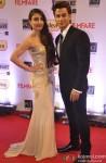 Soha Ali Khan and Kunal Khemu walk the Red Carpet of 'Filmfare Awards 2014'