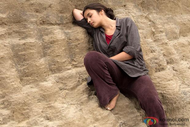 Alia Bhatt in a still from movie 'Highway'