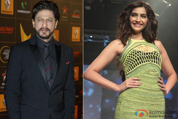 Shah Rukh Khan and Sonam Kapoor