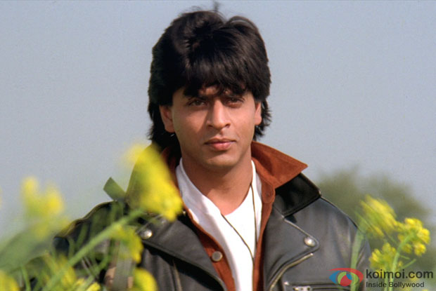 Shah Rukh Khan in a still from movie 'Dilwale Dulhaniya Le Jayenge'