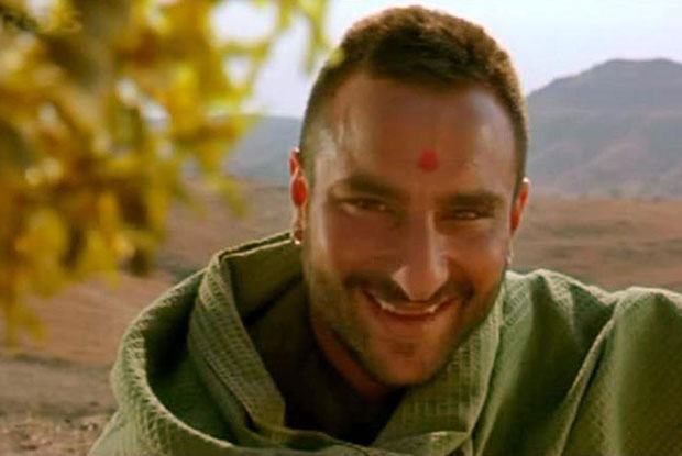Saif Ali Khan as a 'Langda Tyagi' in a still from movie 'Omkara'