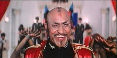 Amrish Puri as a 'General Dong' still from movie 'Tahalka'