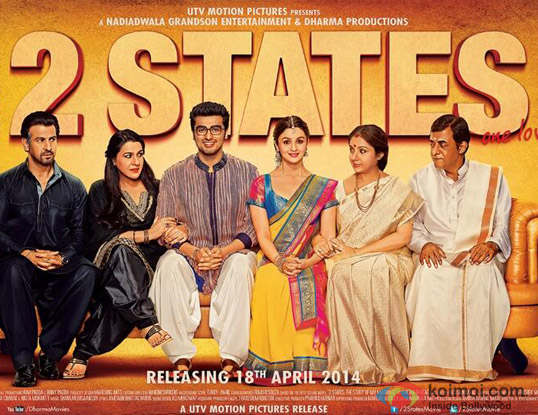 '2 States' movie poster