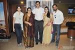 Maya Sarao, Seema Pahwa, Rajat Kapoor, Taranjit Kaur and Namit Das during the trailer launch of film Ankhon Dekhi