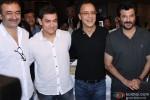 Rajkumar Hirani, Aamir Khan, Vidhu Vinod Chopra and Anil Kapoor attend a Book launch event