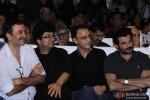 Rajkumar Hirani, Prasoon Joshi, Vidhu Vinod Chopra and Anil Kapoor attend a Book launch event
