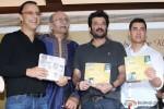 Vidhu Vinod Chopra, Anil Kapoor and Aamir Khan attend a Book launch event