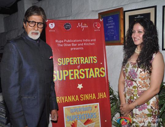 Amitabh Bachchan and Priyanka Sinha
